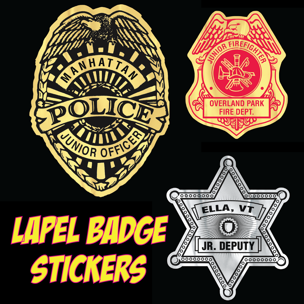 Lapel Badge Stickers